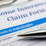 homeowners insurance claim form