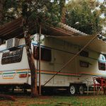 RV Parking with Trees